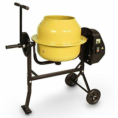 Megamix CM46  Yellow 46L cement concrete Mixer diy mortar and plaster