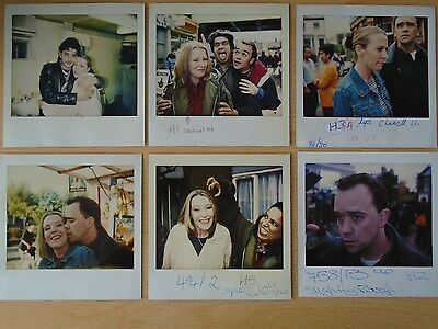 EASTENDERS set of 6 Continuity Polaroid Photos *Genuine One-Off Originals* RARE