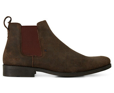 Windsor Smith Men's Palmer Leather Boot - Brown/Oil Side