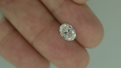 1.21 Carat E VS1 Oval Natural Certified Loose Diamond For Engagement Ring
