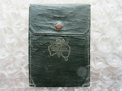 Old Y.M.C.A Australia Cloth Folder Wallet