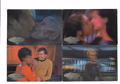 WOMEN OF STAR TREK IN MOTION Promotional Cards 39/40 Ltd to 300 Rittenhouse 2000