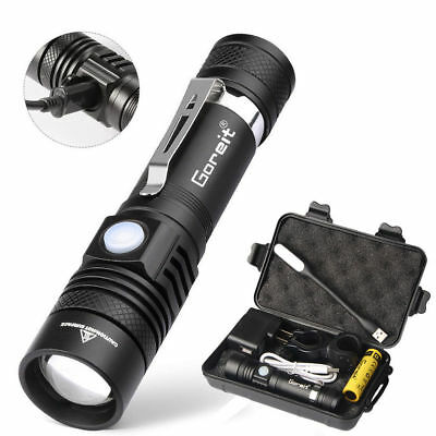 US 8000lm Genuine Lumitact G700 LED Tactical Flashlight Military Torch X800 NEW