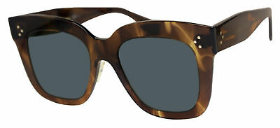 3067c709ea0a Celine 41444 S-07B-2K brown havana acetate frame gray 51mm lens sunglasses