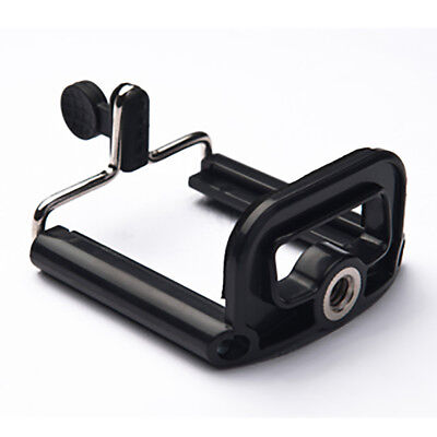 Cell Phone Tripod Mount Adapter Clip Holder 1/4-20-Iphone 7 7+ Galaxy Etc