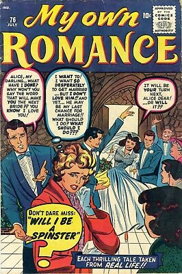 My Own Romance July 1960 No. 76, Kirby art,  36pgs. Complete