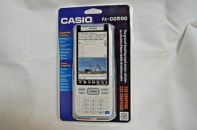 Casio FX-CG500  3-D, Color-Display Graphing Calculator, New In Box.