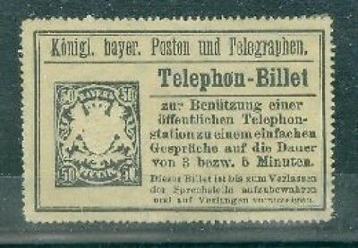 50 Pfennig Telephon-Billet (311648)