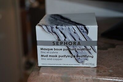 Pot  Masque De Boue Purifiant  Sephora   60 Ml  Neuf