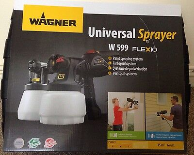 Sealed Wagner Universal Paint Sprayer W599 Flexio for a limited time only!