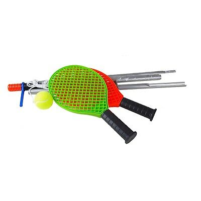Tennis Trainer 2Schläger Stange Ball Tennisspieler Trainingsset Schnur Tennis