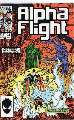 Alpha Flight #24 (VFN) `85 Byrne