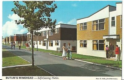Butlins Minehead The Self-Catering Flatlets  John Hinde Ltd 3M2 Pc