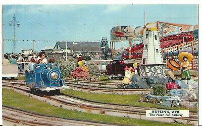 Butlins Ayr The Peter Pan Railway A.6 Pc