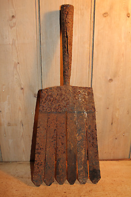 EEL SPEAR~Antique Wrought Iron~Fishing~