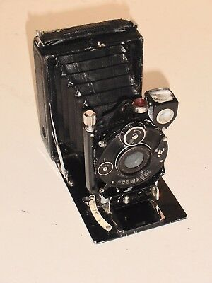 Antique Rietzschel folding camera circa 1900's