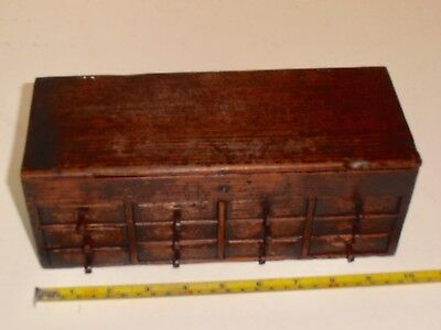 Vintage Watchmakers Multi Drawer Chest and contents