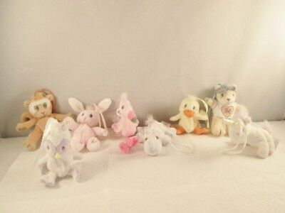 PRECIOUS MOMENTS TENDER TAILS ORNAMENTS - LOT of 8
