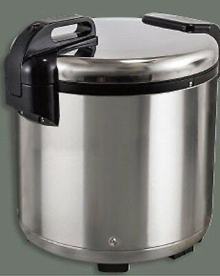 1 Set Winco Extra Large Electric Rice Warmer Holds 100 Cups Cooked Rice RW-S450