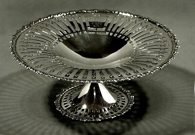 Dominick & Haff Sterling Silver Compote         Cake Stand             c1920