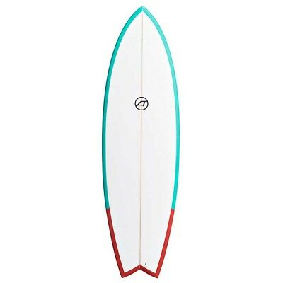 St Comp Surfboards Fish 5´10´´ Tropic Green