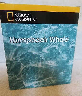 National Geographic Humpback Whale Water Globe  San Francisco Music Box Co New
