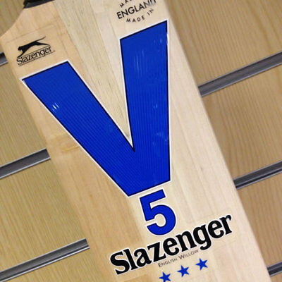 *NEW* SLAZENGER V5 3-STAR CRICKET BAT, Mens SH, RRP £210 *** SALE ***