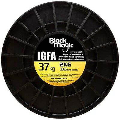 Black Magic Igfa Bulk Spool 3340 0.820 mm Hi Viz Yellow