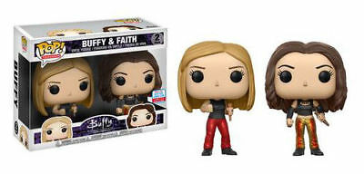 pop vinyl television Buffy & faith.2 pack 2017 fall convention exc