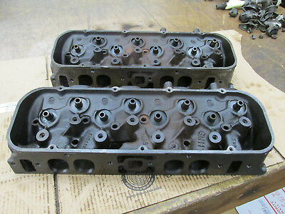 1970 Chevy BBC 396 402 427 454 Oval Port Heads 3964290 290 K-5-9 K-19-9