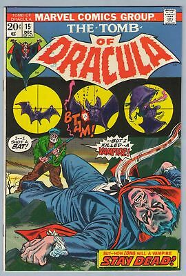 Tomb of Dracula 15 Dec 1973 VF-NM (9.0)