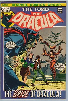 Tomb of Dracula 4 Sep 1972 VG-FI (5.0)