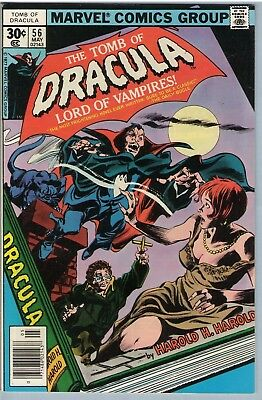 Tomb of Dracula 56 May 1977 VF (8.0)