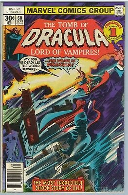 Tomb of Dracula 60 Sep 1977 FI (6.0)