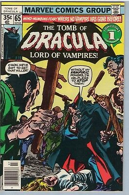 Tomb of Dracula 65 Jul 1978 VF- (7.5)