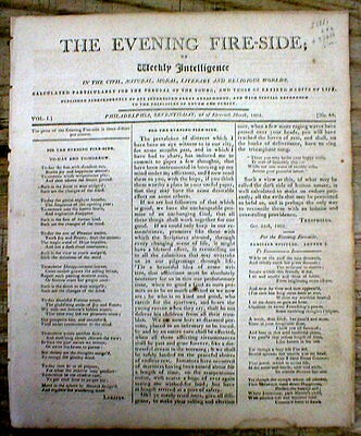 1805 newspaper w True Story GEORGIA SLAVE FAMILY TORN APART by their WHITE OWNER