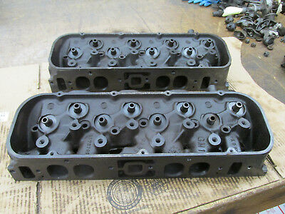 1966 Big Block Chevy BBC 396 427 Oval Port Heads 3872702 702 J-28-5  K-6-5