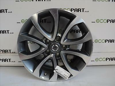 "NISSAN JUKE Wheel Mk 1 (Facelift) , 17"" X 7 WIDE, DIAMOND CUT FACE"