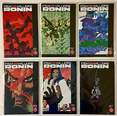 Frank Miller's Ronin #s 1, 2, 3, 4, 5, and 6 Full Run DC Comics VF/NM to NM+ WP