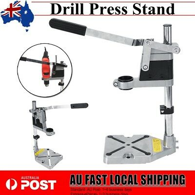 AU Universal Drill Press Stand with Heavy Duty Frame & Cast Metal Base Brand New