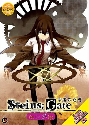 *Billig!* STEINS GATE TV+Soundtrack | 01-24 | English Subs | 3 Discs (MIR1305)