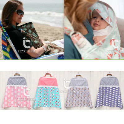Multi-function Cotton Breathable Breast Feeding Nursing Cover Lactation Cloth