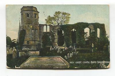 Basingstoke - Holy Ghost Chapel Ruins - 1910 used postcard