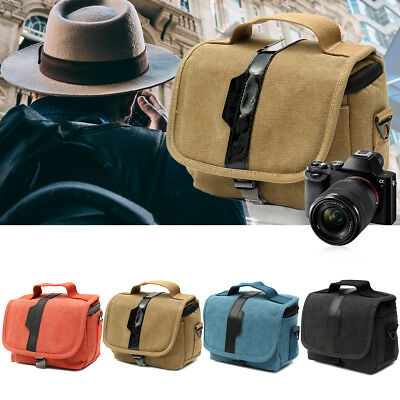 Camera Single Shoulder Bag Protective Carrying Case For Canon Nikon Sony DSLR