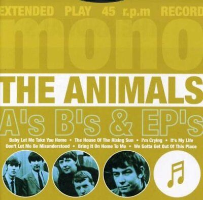 The Animals (New Sealed Cd) A's, B's & Ep's The Greatest Hits Very Best Of