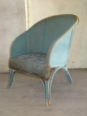 ancien fauteuil osier antiquites old chair art populaire chaise