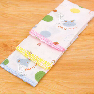 3pcs/lot 25*25cm 100% Cotton Baby Gauze Washcloth Baby Wipe Towel Handkerchief