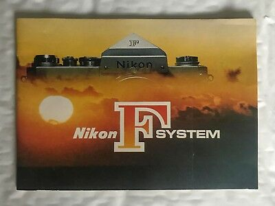 Nikon F System, A5 Product Brochure