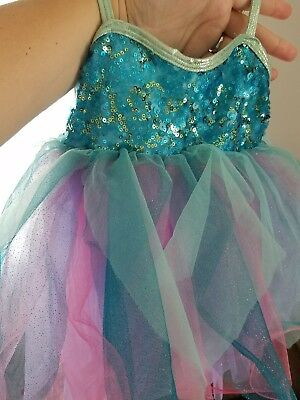 Halloween  Ballet Tutu Girl Dance Costume Pageant Fairy Dress Up Size 2T 3T