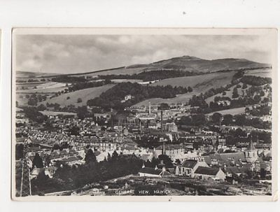 General View Hawick 1960 RP Postcard 197b